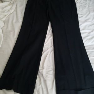 The Limited black flare pants